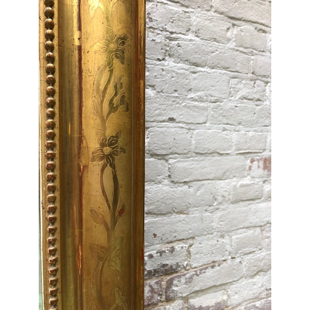 French Louis Philippe Mirror , 19th Century For Sale - Image 6 of 9