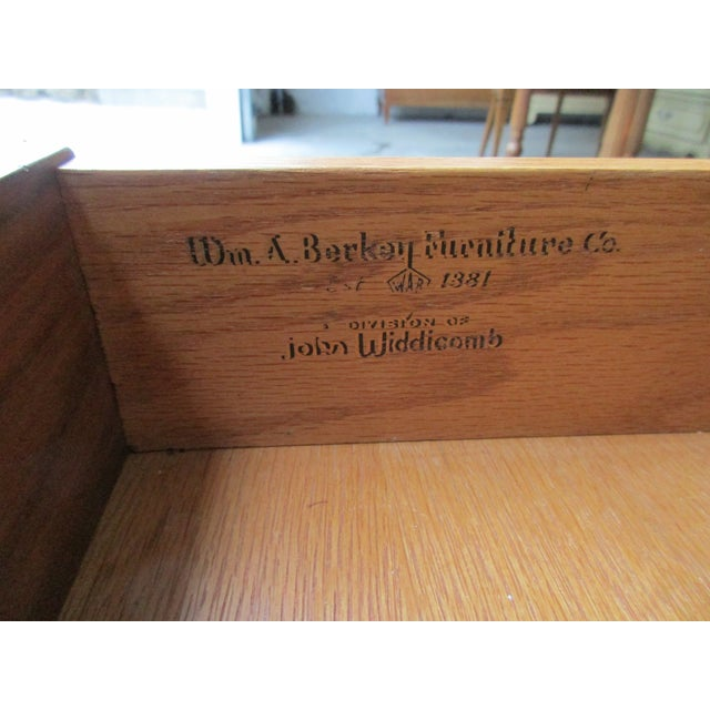 Brown William a Berkey for John Widdicomb Side Table For Sale - Image 8 of 12