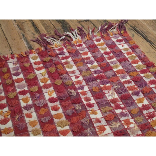 1950s Pardah (curtain) with poms For Sale - Image 5 of 8