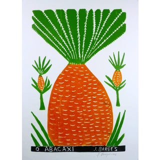 """José Francisco Borges """"Pineapple"""" Print For Sale"""