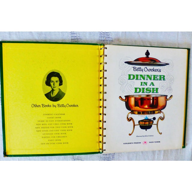 Paper Vintage Betty Crocker Cookbooks - Set of 3 For Sale - Image 7 of 11