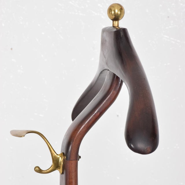 Mid Century Modern Italian Gentleman's Valet by Ico Parisi for Fratelli Reguitti - Image 6 of 11