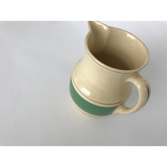 Green & Cream Retro Pitcher - Image 4 of 8