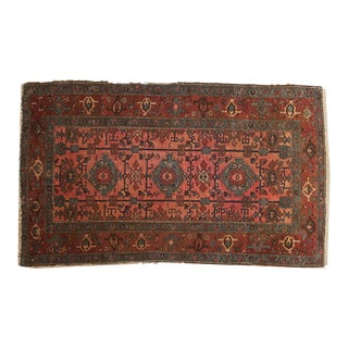 "Antique Lilihan Rug - 3'8"" x 6'"