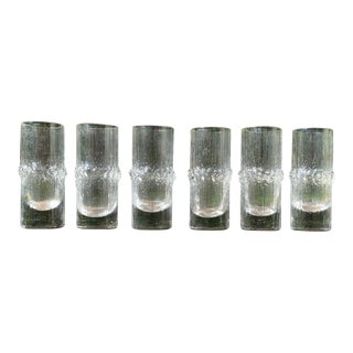 "A Set of Six Vintage Tapio Wirkkala ""Niva"" Schnapps or Shot Glasses. Circa 1968. For Sale"
