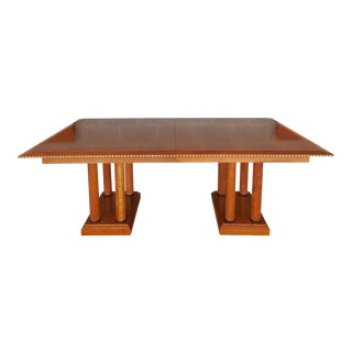 Councill Craftsmen Biedermeier Style Dining Extension Table For Sale