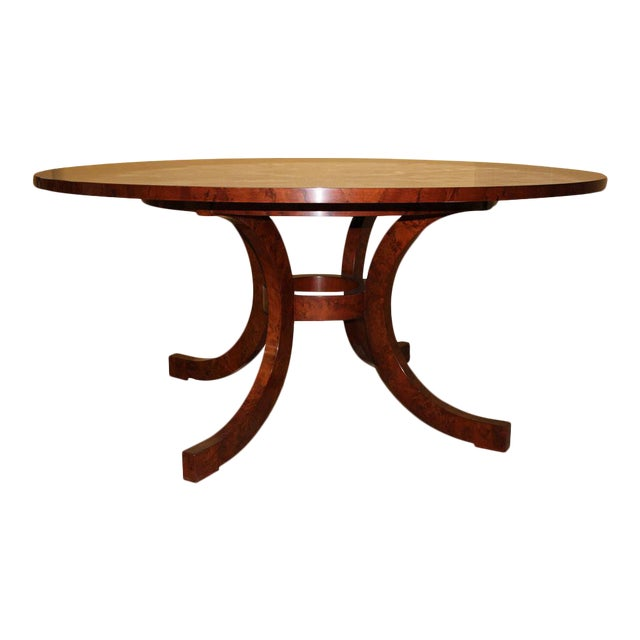 Yew Wood Dining Table For Sale