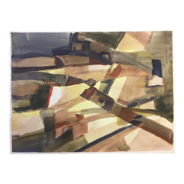 1970s Abstract Expressionism Landscape Bay Area Artist For Sale