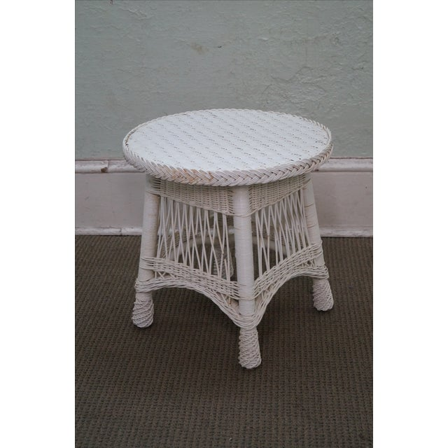 Victorian Child's Wicker Patio Set - Image 8 of 10