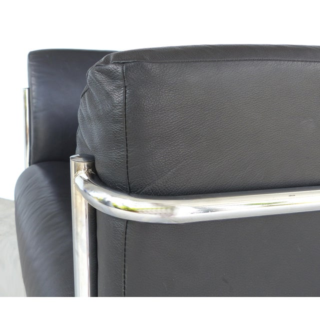 Remarkable Kebe Of Denmark Leather Chrome Club Chair Theyellowbook Wood Chair Design Ideas Theyellowbookinfo