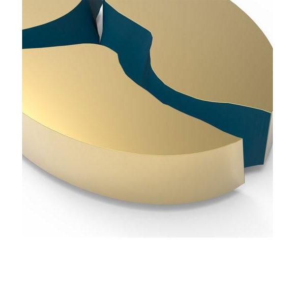Metal Covet Paris Lapiaz Oval Sideboard For Sale - Image 7 of 8