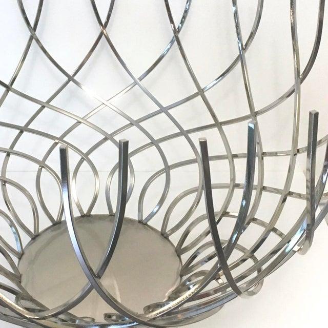 Large Modern Silver Bowl - Image 3 of 5