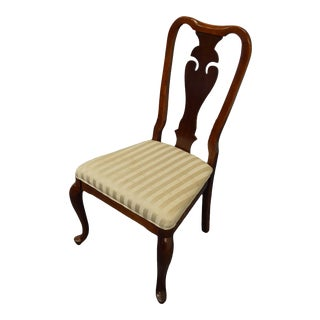 Bernhardt Furniture Mahogany Traditional Side Chair For Sale