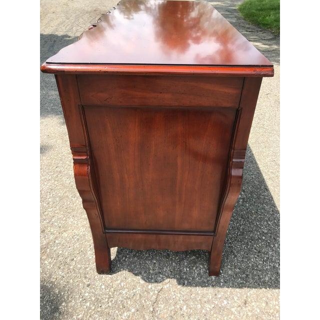 Art Nouveau Cherry Dresser by John Widdicomb For Sale - Image 3 of 11