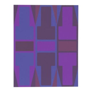 'T Series (Purple)' Serigraph by Arthur Boden For Sale
