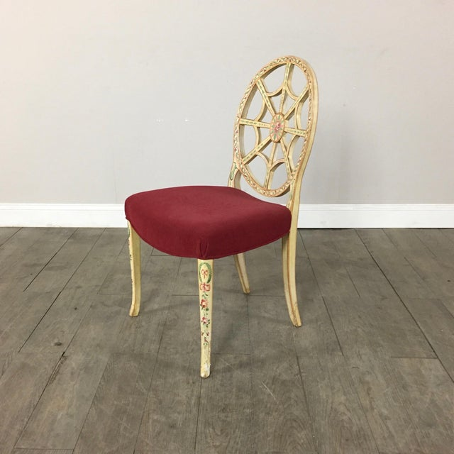 Hand Painted Side Chair - Image 2 of 10