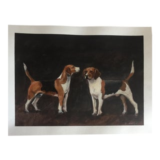 "Original Illustration ""Hounds"" Stephen Heigh For Sale"