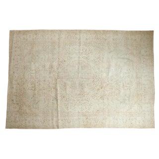 Vintage Oushak Carpet For Sale