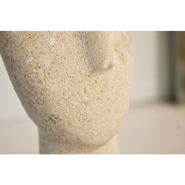 Modernist Cycladic Stone Sculpture - Image 9 of 10