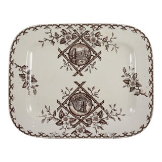 English Aesthetic Movement Japonesque Platter For Sale