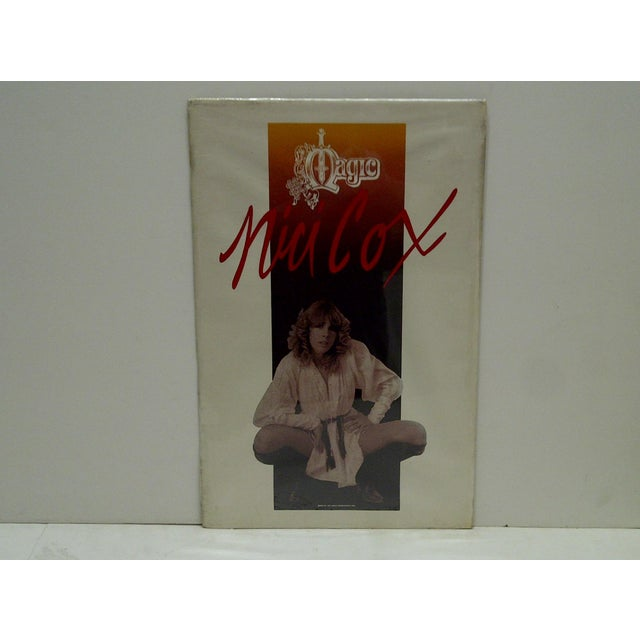 "This is a Vintage Magic Show Poster -- ""Mia Cox Magic"" -- Circa 1982 -- The Poster Is Shrink-Wrapped To Cardboard"
