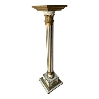 Vintage Louis Style French Classical Display Pedestal For Sale