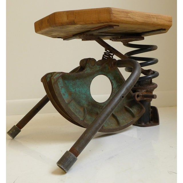Industrial High-Tech Side Table/Seat For Sale - Image 3 of 8