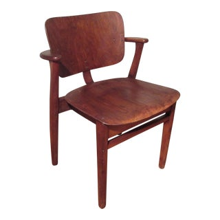 Vintage Knoll Domus Bent Plywood Stacking Chair For Sale