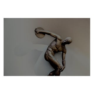 The Bronze Olympian Original Photography Print For Sale