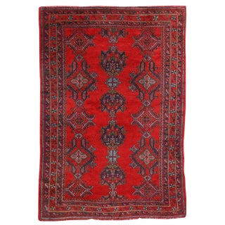 "Vintage Turkish Oushak Thomas Eakins Inspired Rug - 7'6"" X 11' For Sale"