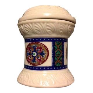 Vintage Byzantium Style Trinket Jar