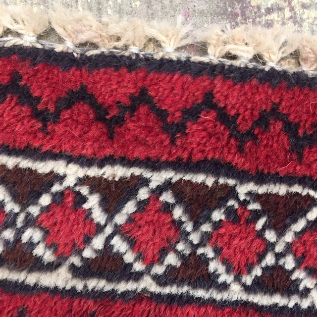 Balluchi Persian Handmade Rug - 2′11″ × 4′7″ - Image 7 of 8