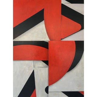 "Contemporary Abstract Acrylic Painting ""PDP441 ct10"" by Cecil Touchon For Sale"