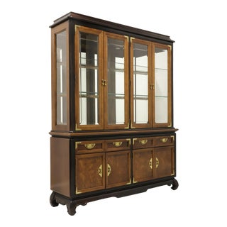 Broyhill Premiere Ming Asian Chinoiserie China Cabinet For Sale