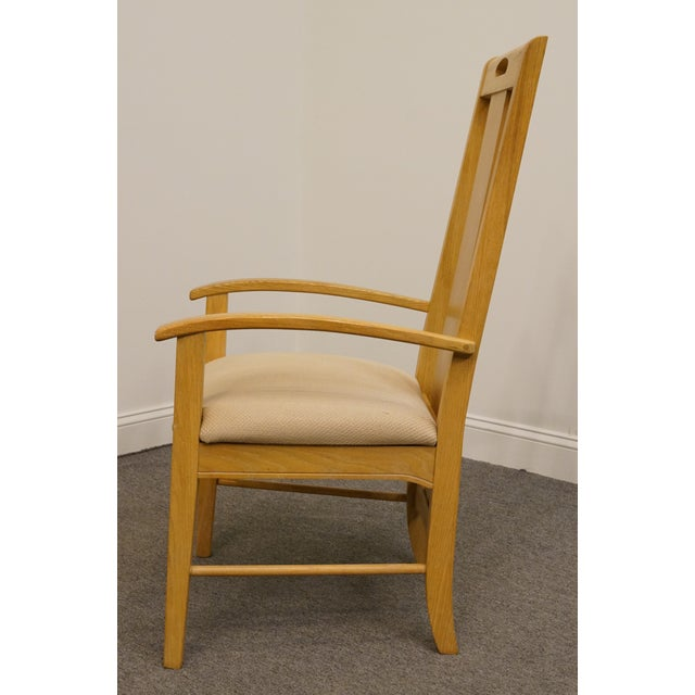 Late 20th Century Late 20th Century Vintage Thomasville Furntiure American Revival Collection Dining Arm Chair For Sale - Image 5 of 9
