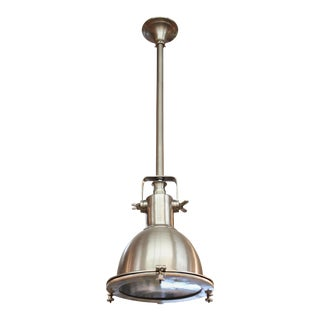 Industrial Style Pendant Light For Sale