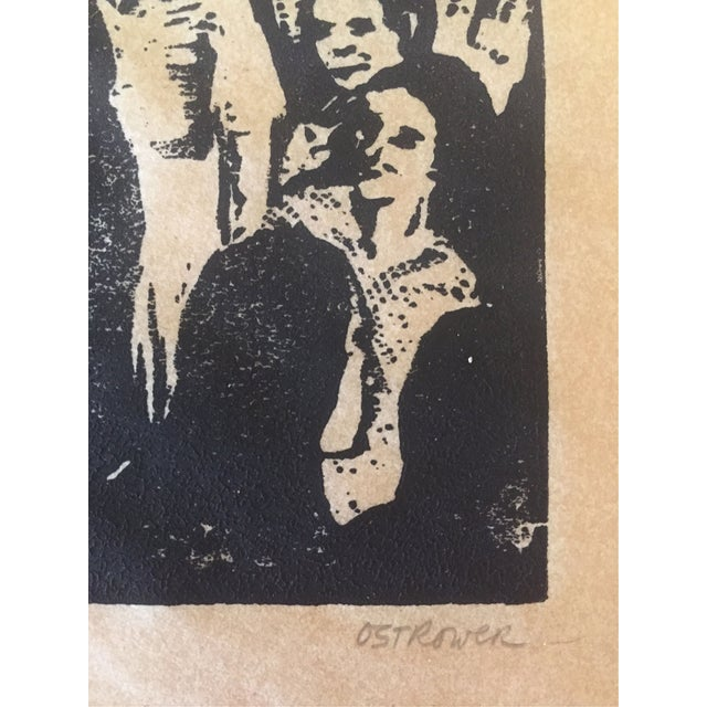 Fay Ostrower Woodblock Print - Image 4 of 6