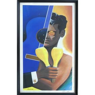 Razzia (Gérard Courbouleix–Dénériaz) Orangina Lithograph Poster For Sale