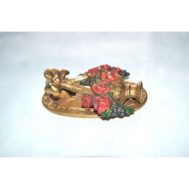 Hubley Flower Basket Door Knocker - Image 8 of 8