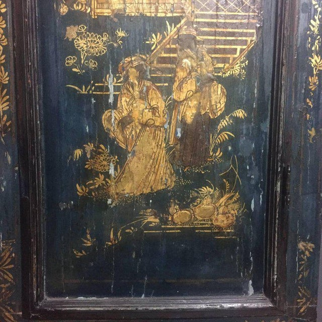 Late 18th Century English Chinoiserie Tall Case Clock For Sale - Image 4 of 11