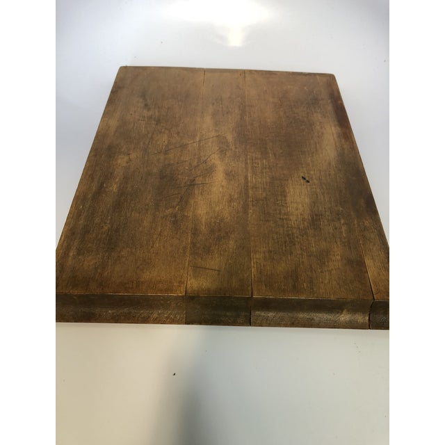 1900s Antique Pastry/Noodle Bread Board For Sale - Image 5 of 6