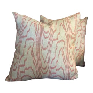 Groundworks & Lee Jofa Pillows - A Pair For Sale