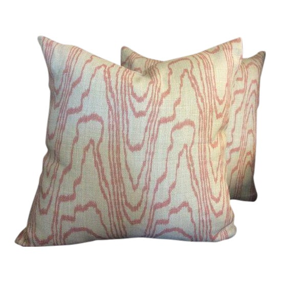 Kelly Wearstler for Groundworks & Lee Jofa Pillows - a Pair - Image 1 of 4