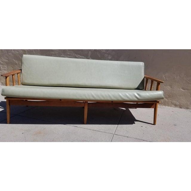 Vintage Mid Century Danish Modern Daybed Sofa