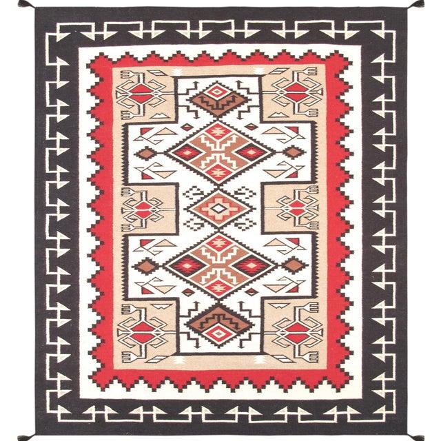 "Navajo Decorative Hand-Woven Rug - 8'4"" X 9'10"" - Image 1 of 3"