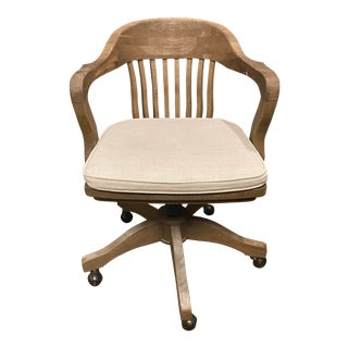 Restoration Hardware Banker's Chair For Sale