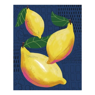 Lemon Contemporary Art Print For Sale
