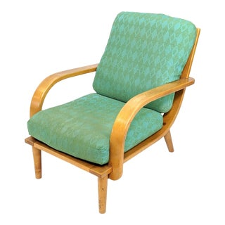 Mid Century Modern Conant Ball Lounge Chair For Sale