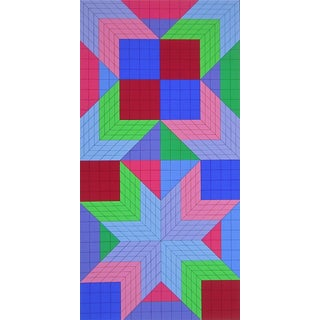 Victor Vasarely DOR-OR 1982 For Sale