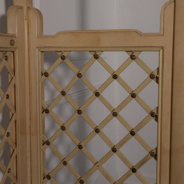 Henredon Lattice Canopy Bed For Sale In Tampa - Image 6 of 13
